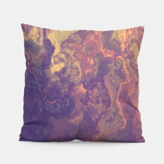 Thumbnail image of Flowy Abstract Pillow, Live Heroes