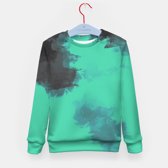 Thumbnail image of Pastel Sky Earth Edition Kid's Sweater, Live Heroes