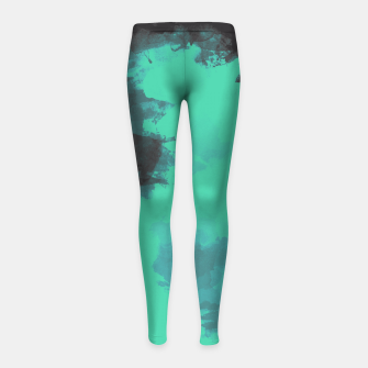 Thumbnail image of Pastel Sky Earth Edition Girl's Leggings, Live Heroes