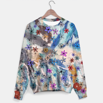 Thumbnail image of Joyful Floral Sweater, Live Heroes