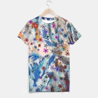 Thumbnail image of Joyful Floral T-shirt, Live Heroes