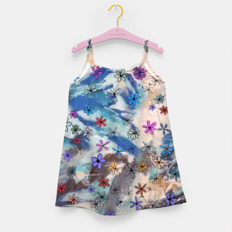 Thumbnail image of Joyful Floral Girl's Dress, Live Heroes