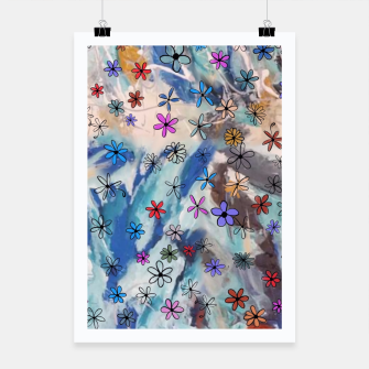 Thumbnail image of Joyful Floral Poster, Live Heroes