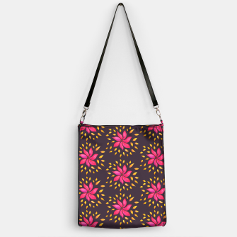 Watercolor Pink Flower Pattern Handbag thumbnail image