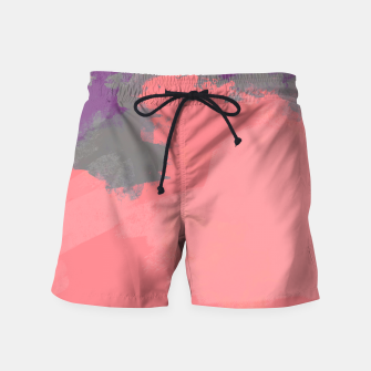 Thumbnail image of Pastel Sky Coral Edition Swim Shorts, Live Heroes