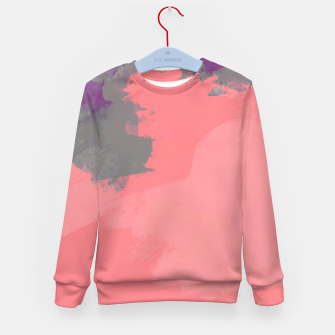 Thumbnail image of Pastel Sky Coral Edition Kid's Sweater, Live Heroes