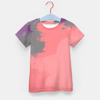 Thumbnail image of Pastel Sky Coral Edition Kid's T-shirt, Live Heroes