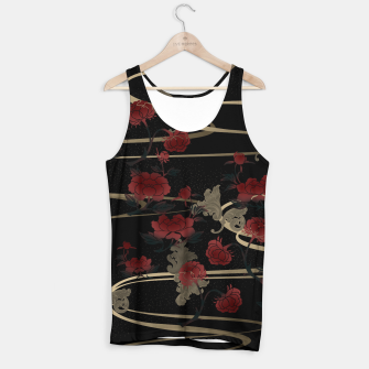 Miniature de image de Japanesque peony and Baroque decoration Tank Top, Live Heroes