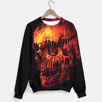 Thumbnail image of Melting Skull Sweater, Live Heroes