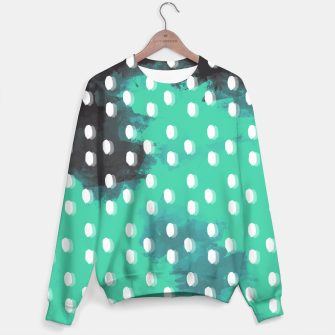 Thumbnail image of Pastel Sky Dotted Earth Edition Sweater, Live Heroes