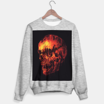 Miniature de image de Melting Skull Sweater regular, Live Heroes