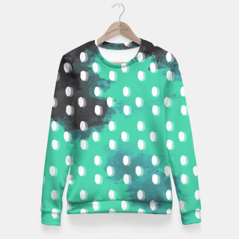 Thumbnail image of Pastel Sky Dotted Earth Edition Fitted Waist Sweater, Live Heroes