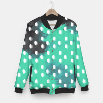 Thumbnail image of Pastel Sky Dotted Earth Edition Baseball Jacket, Live Heroes