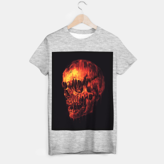 Miniature de image de Melting Skull T-shirt regular, Live Heroes