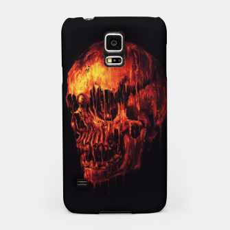 Thumbnail image of Melting Skull Samsung Case, Live Heroes