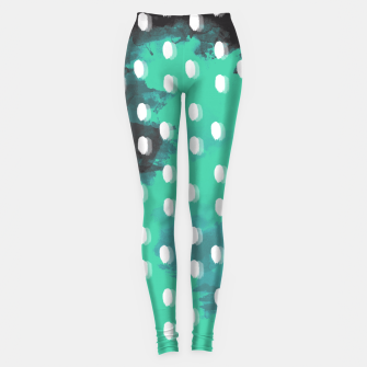 Thumbnail image of Pastel Sky Dotted Earth Edition Leggings, Live Heroes