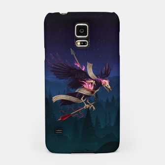 Thumbnail image of The Undead Crow Samsung Case, Live Heroes