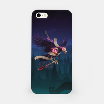 Thumbnail image of The Undead Crow iPhone Case, Live Heroes
