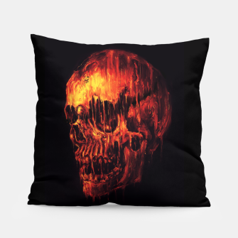 Thumbnail image of Melting Skull Pillow, Live Heroes