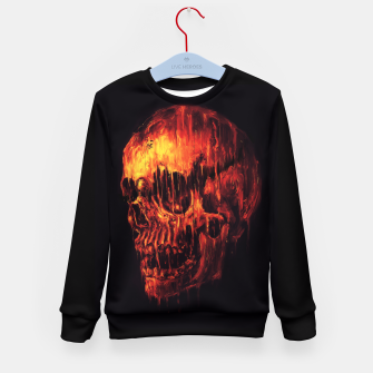 Miniature de image de Melting Skull Kid's Sweater, Live Heroes