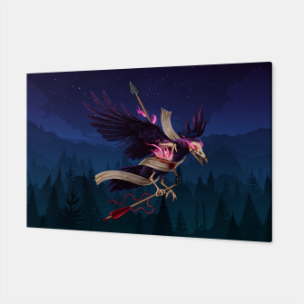 Thumbnail image of The Undead Crow Canvas, Live Heroes