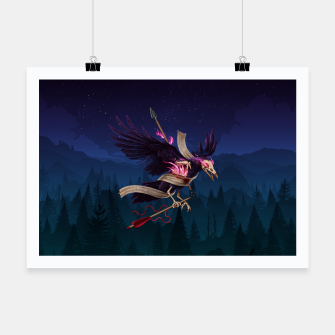 Thumbnail image of The Undead Crow Poster horizontal, Live Heroes