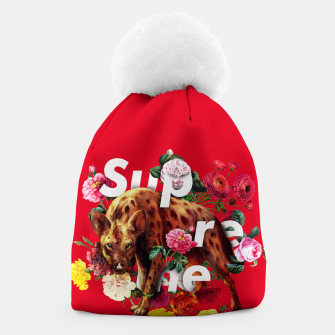 Thumbnail image of Supreme- Hyena Beanie, Live Heroes