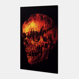 Thumbnail image of Melting Skull Canvas, Live Heroes