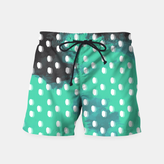 Thumbnail image of Pastel Sky Dotted Earth Edition Swim Shorts, Live Heroes