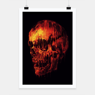 Thumbnail image of Melting Skull Poster, Live Heroes