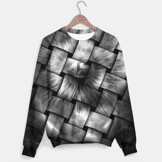 Thumbnail image of A-Synchronous Ethereal Clouds Weave Sweater, Live Heroes