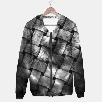 Thumbnail image of A-Synchronous Ethereal Clouds Weave Hoodie, Live Heroes