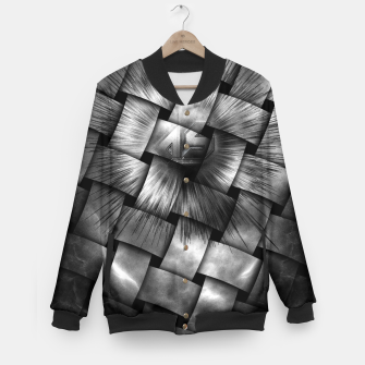 Thumbnail image of A-Synchronous Ethereal Clouds Weave Baseball Jacket, Live Heroes
