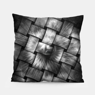 Thumbnail image of A-Synchronous Ethereal Clouds Weave Pillow, Live Heroes