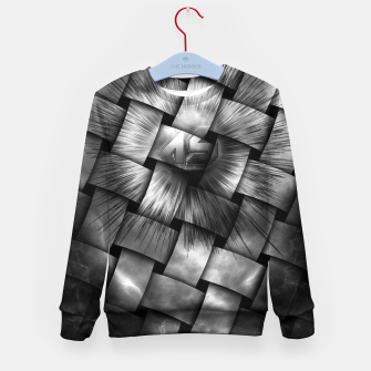 Thumbnail image of A-Synchronous Ethereal Clouds Weave Kid's Sweater, Live Heroes