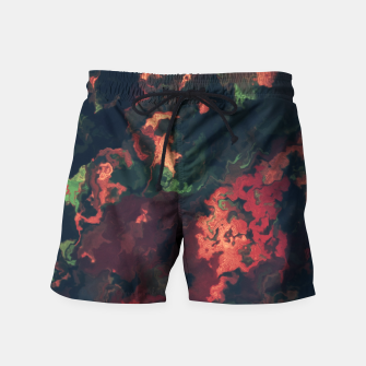 Fall Abstract Swim Shorts obraz miniatury