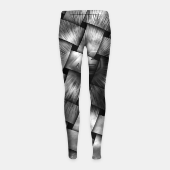 Thumbnail image of A-Synchronous Ethereal Clouds Weave Girl's Leggings, Live Heroes