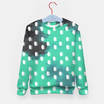 Thumbnail image of Pastel Sky Dotted Earth Edition Kid's Sweater, Live Heroes
