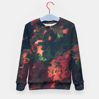 Fall Abstract Kid's Sweater obraz miniatury