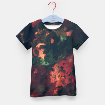 Fall Abstract Kid's T-shirt obraz miniatury