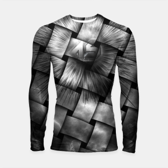 Thumbnail image of A-Synchronous Ethereal Clouds Weave Longsleeve Rashguard , Live Heroes