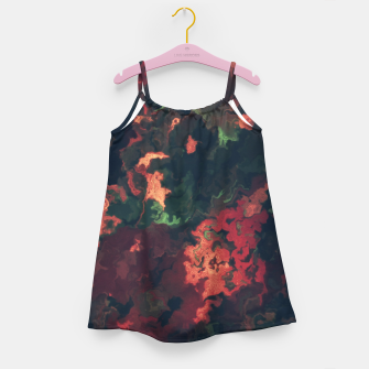 Fall Abstract Girl's Dress obraz miniatury