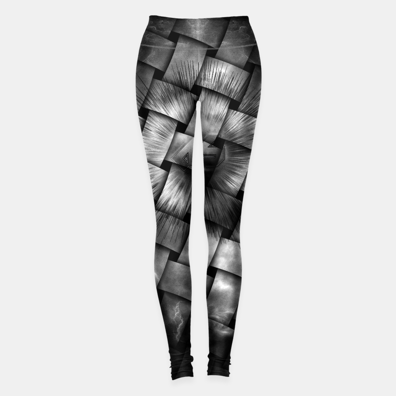 Zdjęcie A-Synchronous Ethereal Clouds Weave Leggings - Live Heroes