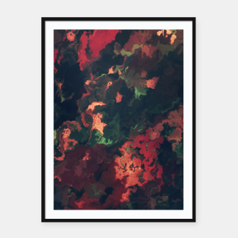 Fall Abstract Framed poster obraz miniatury