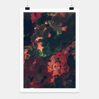 Fall Abstract Poster obraz miniatury