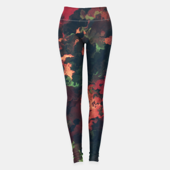 Fall Abstract Leggings obraz miniatury