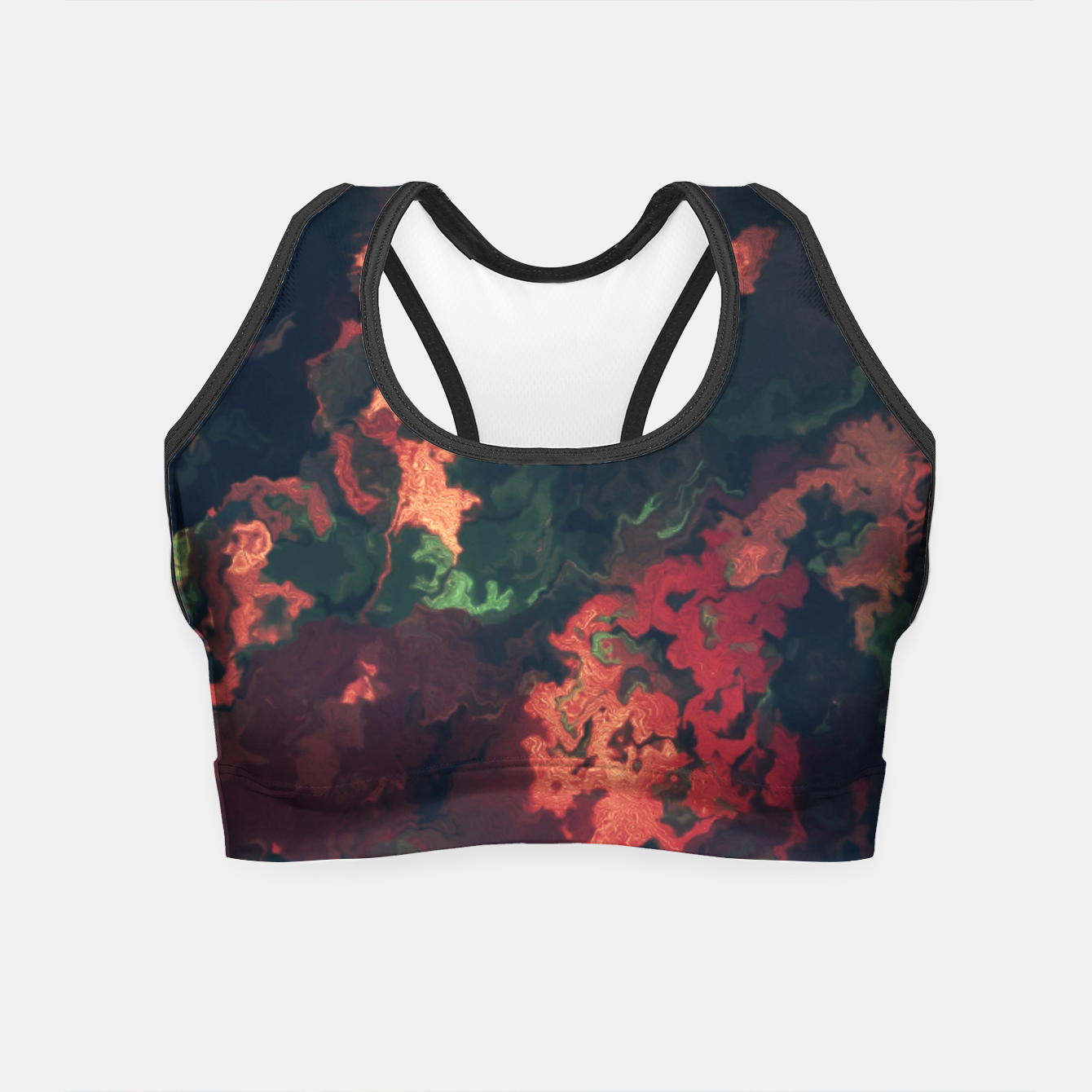 Zdjęcie Fall Abstract Crop Top - Live Heroes