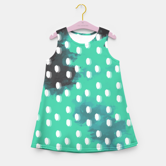 Thumbnail image of Pastel Sky Dotted Earth Edition Girl's Summer Dress, Live Heroes