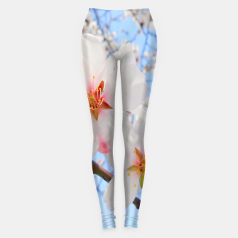 Thumbnail image of Blossoms Close-up Leggings, Live Heroes