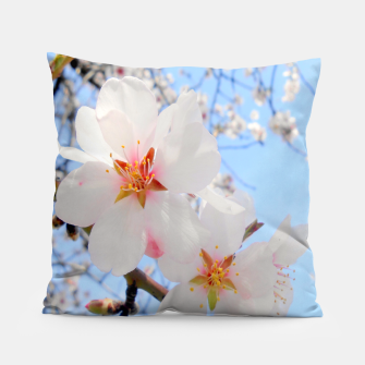 Thumbnail image of Blossoms Close-up Pillow, Live Heroes